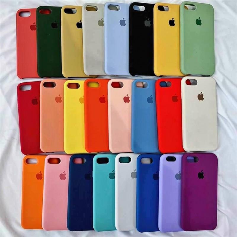Ốp Lưng Chống Bẩn Apple Silicon Case