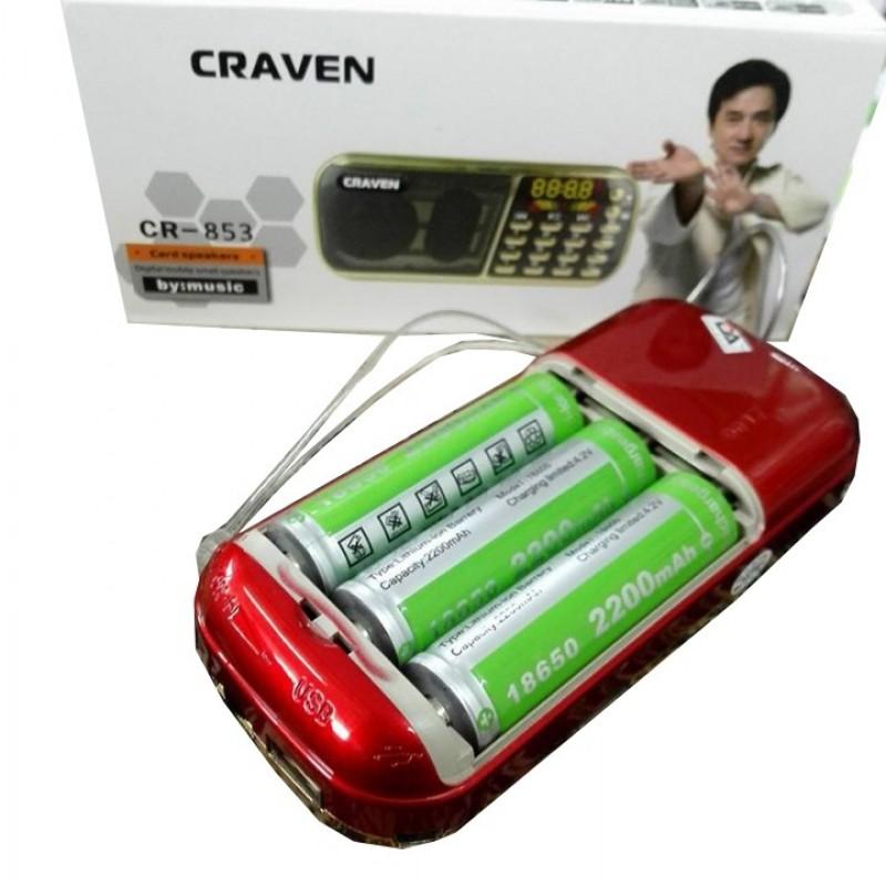 Loa FM/Thẻ Nhớ/USB/Nghe Kinh Phật Craven CR-853