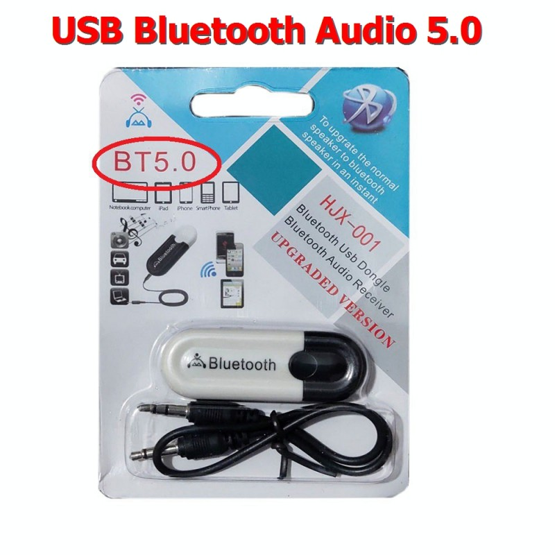 Usb Bluetooth 5.0 Audio HJX-001 (BH 3T)