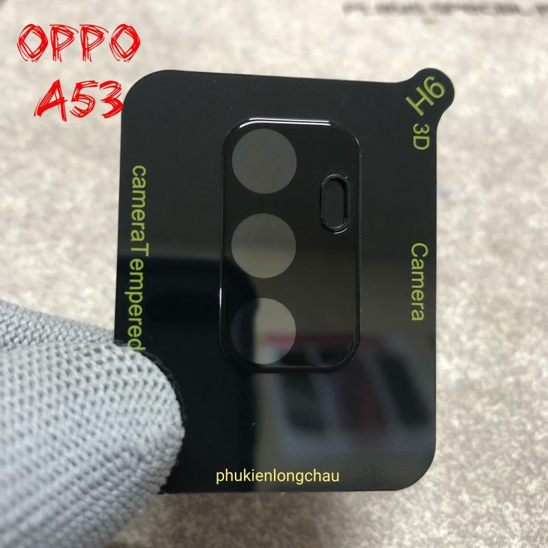 Miếng Dán Cường Lực 3D Bảo Vệ Cụm Camera Sau Oppo A53