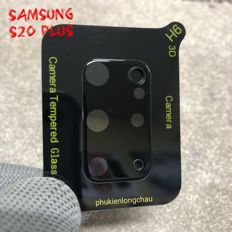 Miếng Dán Cường Lực 3D Bảo Vệ Cụm Camera Sau Samsung S20 Plus