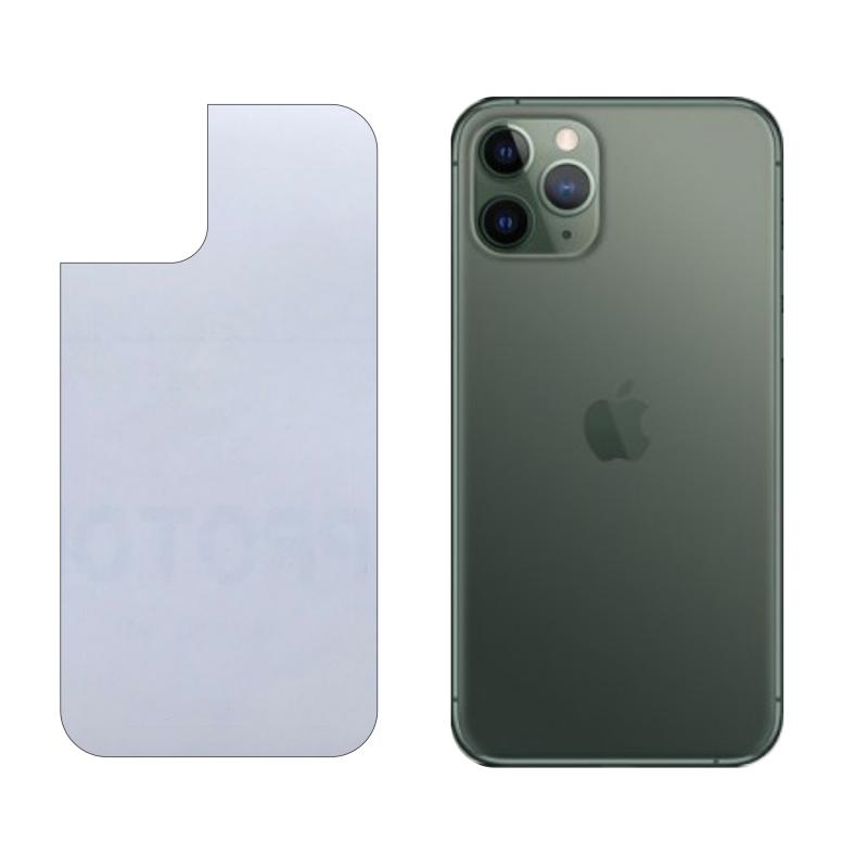 Miếng Dán Lưng iPhone 11 Pro Decal Trong Nhám Chống Vân Tay