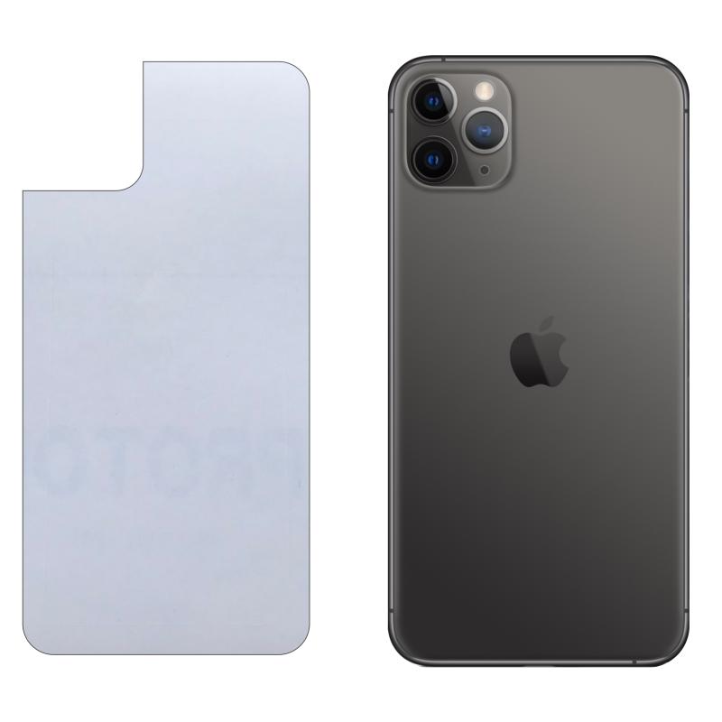 Miếng Dán Lưng iPhone 11 Pro Max Decal Trong Nhám Chống Vân Tay