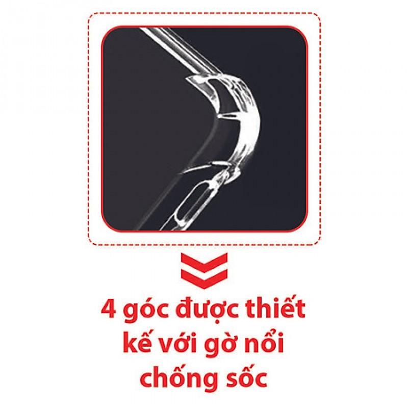Ốp Lưng Oppo A94 Dẻo Trong Suốt Chống Sốc Có Gù Bảo Vệ 4 Gốc