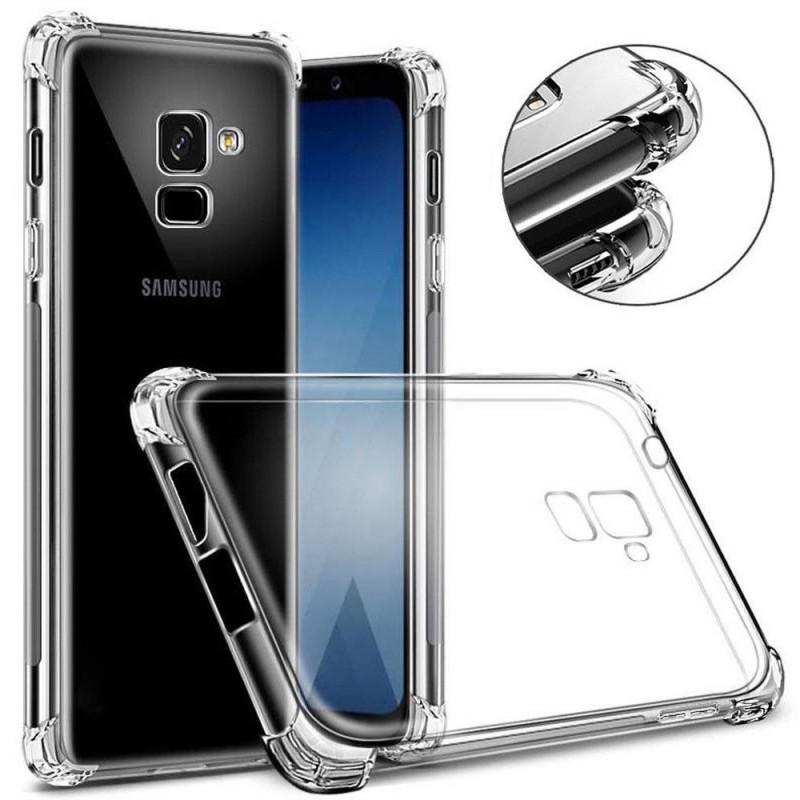 Ốp Lưng Samsung J6 Plus Dẻo Trong Suốt Chống Sốc Có Gù Bảo Vệ 4 Gốc