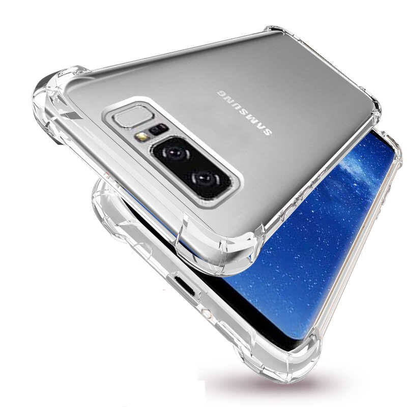 Ốp Lưng Samsung Note 20 Ultra Dẻo Trong Suốt Chống Sốc Có Gù Bảo Vệ 4 Gốc