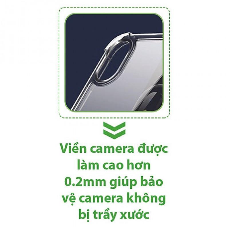 Ốp Lưng Vivo V20 Dẻo Trong Suốt Chống Sốc Có Gù Bảo Vệ 4 Gốc