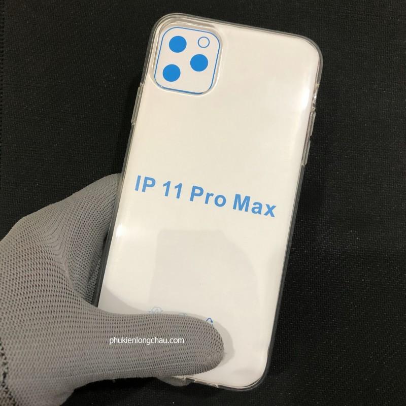 Ốp Lưng iPhone 11 Pro Max Dẻo Trong Tốt Lâu Ố Vàng