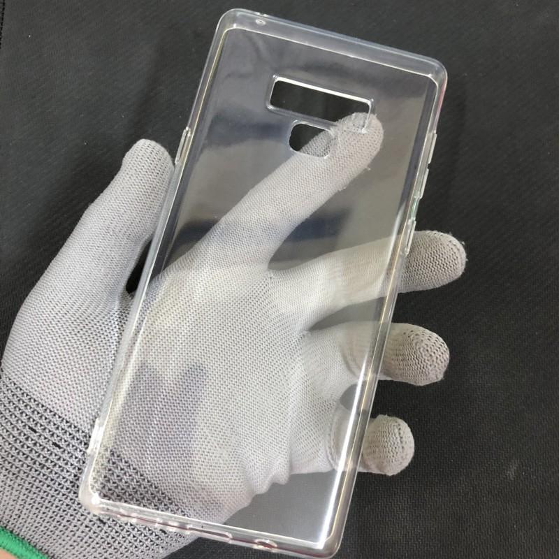 Ốp Lưng Samsung Note 9 Dẻo Trong Tốt Lâu Ố Vàng