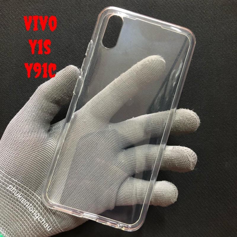 Ốp Lưng Vivo Y1s/Y91c Dẻo Trong Tốt Lâu Ố Vàng