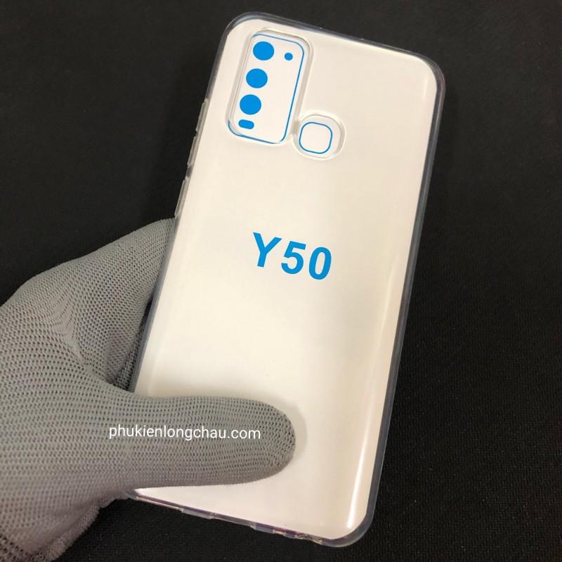 Ốp Lưng Vivo Y50/Y30 Dẻo Trong Tốt Lâu Ố Vàng