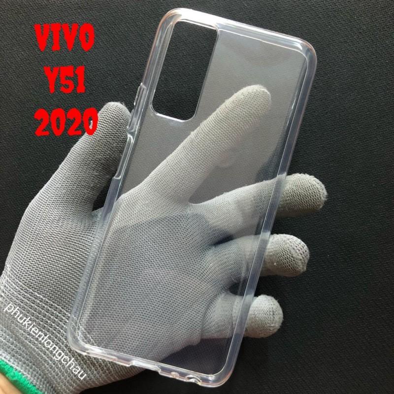 Ốp Lưng Vivo Y51 2020 Dẻo Trong Tốt Lâu Ố Vàng