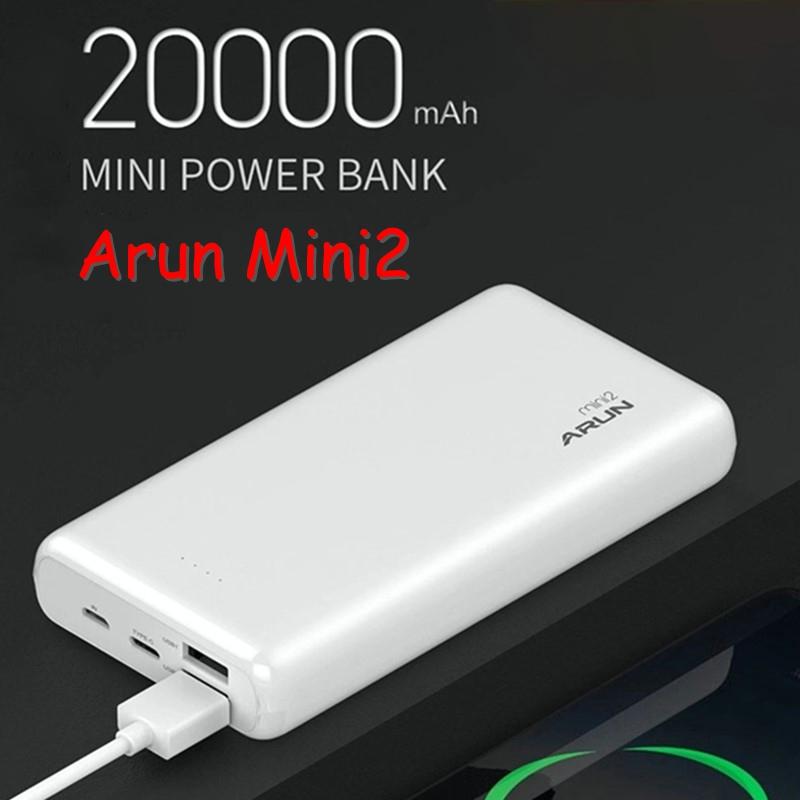 Pin Dự Phòng Arun Mini2 20.000 mAh (BH 12T)