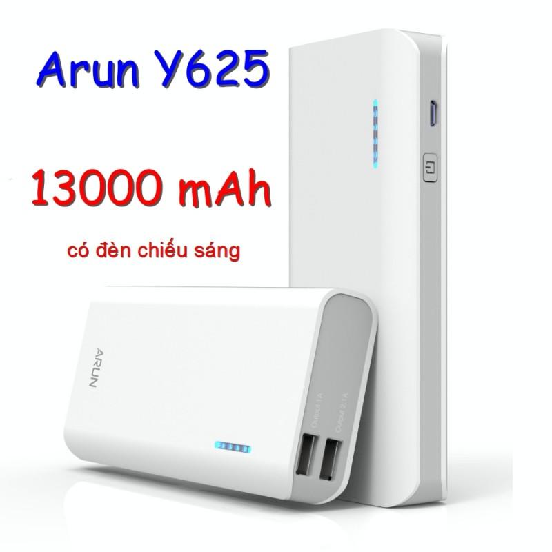 Pin Dự Phòng Arun 13000 mah Y625 Chính Hãng (BH 12T)