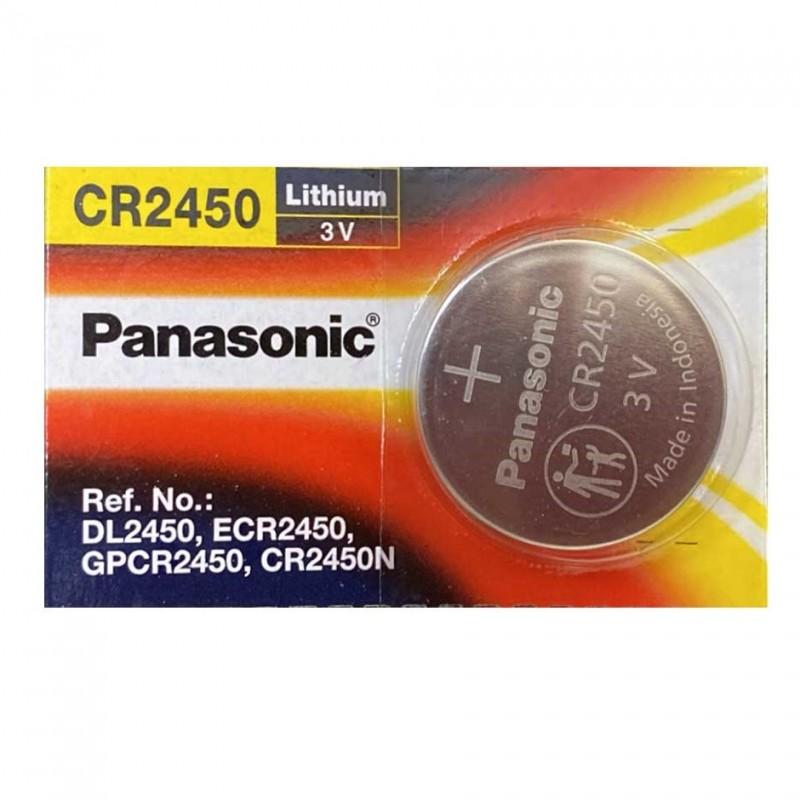 Pin Remote Xe Máy, Oto, Máy Tính CMOS CR2450 Chính Hãng Panasonic