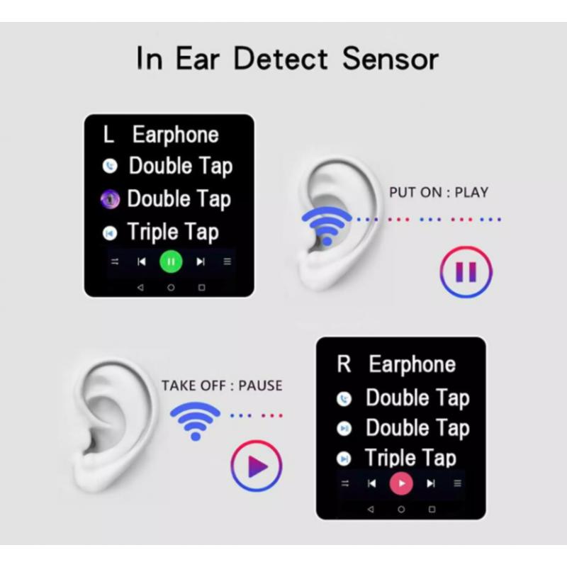 Tai Nghe Bluetooth 2 Tai Airpod Pro4 Mini (BH 1T)