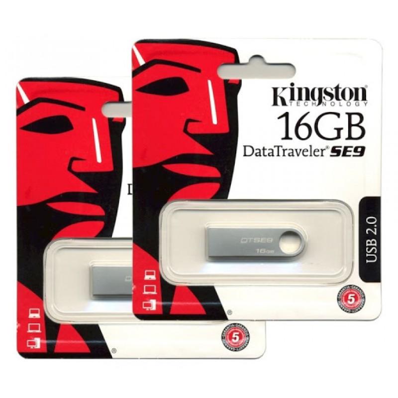 USB Kingston SE9 16GB Chống Nước, Chống Sốc (BH 12T)