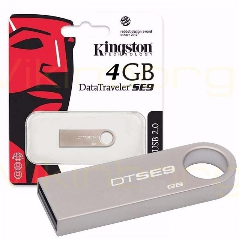 USB Kingston SE9 4GB Chống Nước, Chống Sốc (BH 12T)