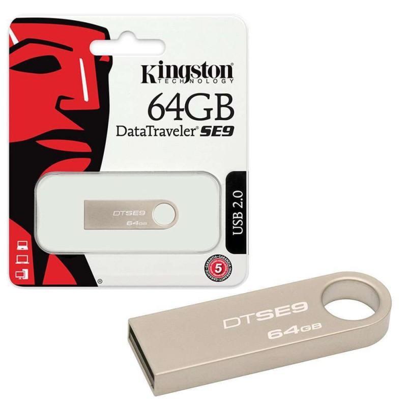 USB Kingston SE9 64GB Chống Nước, Chống Sốc (BH 12T)