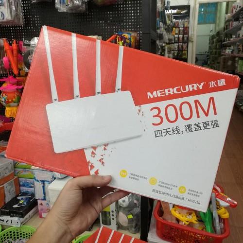Bộ Phát Wifi 4 Râu Mercury MW325R 300Mbps Cực Mạnh (BH 3T)