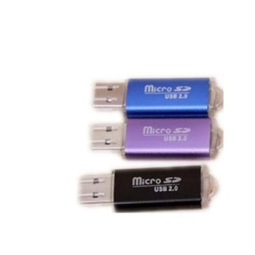 Đầu đọc thẻ nhớ Micro-SD mini nhôm