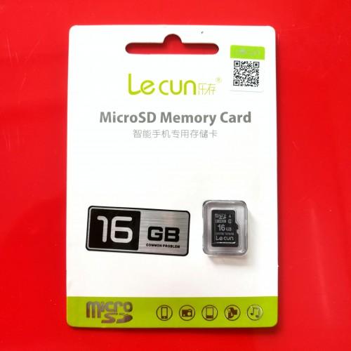 Thẻ Nhớ Micro SD Lecun 16GB Class 10 Chính Hãng (BH 36T)