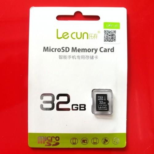 Thẻ Nhớ Micro SD Lecun 32GB Class 10 Chính Hãng (BH 36T)