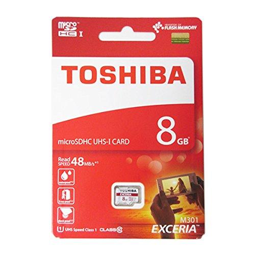 Thẻ Nhớ Micro SD 8GB Toshiba Class 10  (BH 12T)