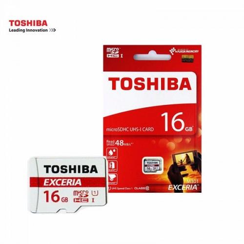 Thẻ Nhớ Micro SD 16GB Toshiba Class 10 (BH 12T)